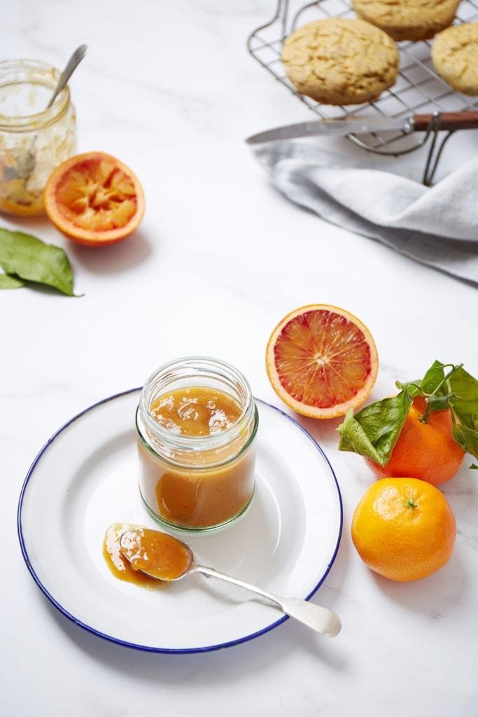 clementine and orange curd