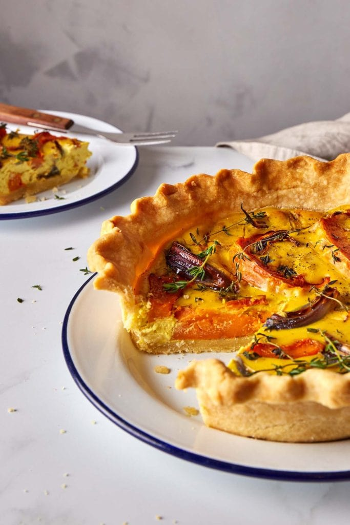 vegan gluten free quiche
